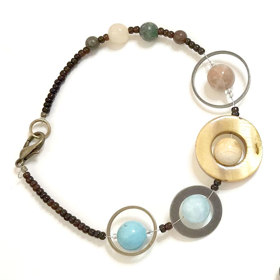 Scale Solar System bracelet