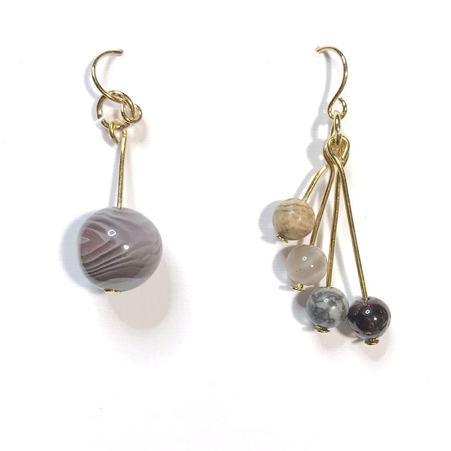 Jupiter and Moons Earrings