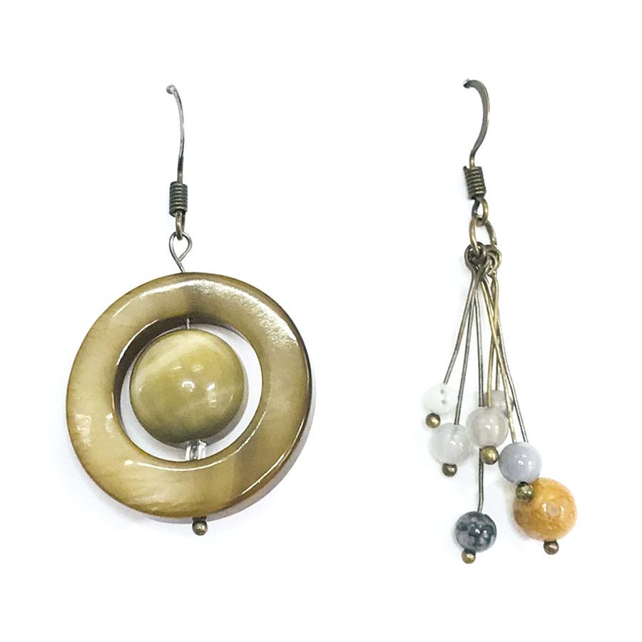 Saturn and Moons Earrings